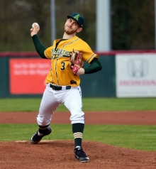 Unverzichtbarer Faktor in den Play-offs: Pitcher Tim Stahlmann.