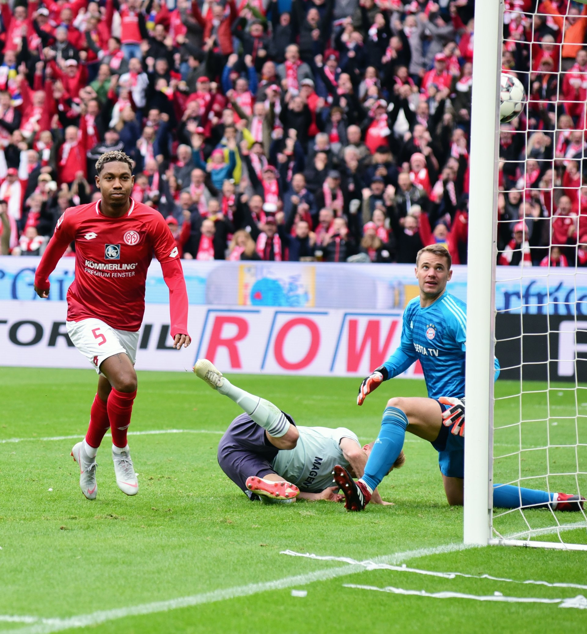 Endstand Bayern