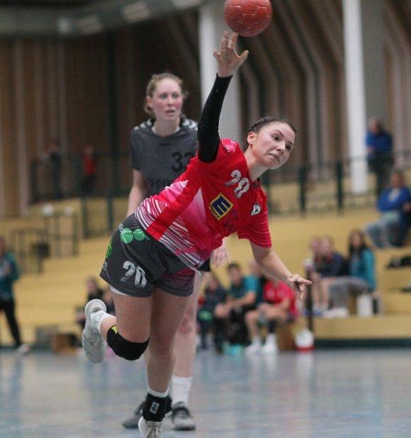 Lara Sagner war in Bassenheim beste Feldtorschützin ihres Teams, vergab aber auch gleich zwei Siebenmeter.